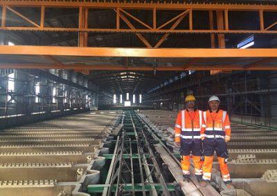 تامین و نصب باس بارهای کارخانه لیچینگ 50 هزارتنی ( شرکت بابک مس ایرانیان )