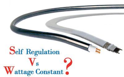 تفاوت کابل حرارتی توان ثابت و توان متغیر (خودتنظیم) چیست؟