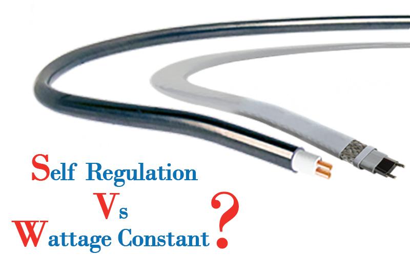 کابل حرارتی توان ثابت یا کابل هیت تریس توان متغیر