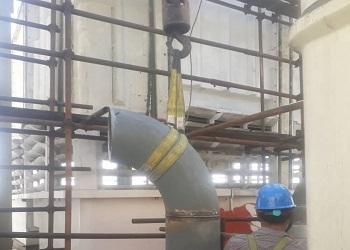 عایقکاری، پایپینگ و کلدینگ کارخانه ذوب مس خاتون آباد - تصویر 7
