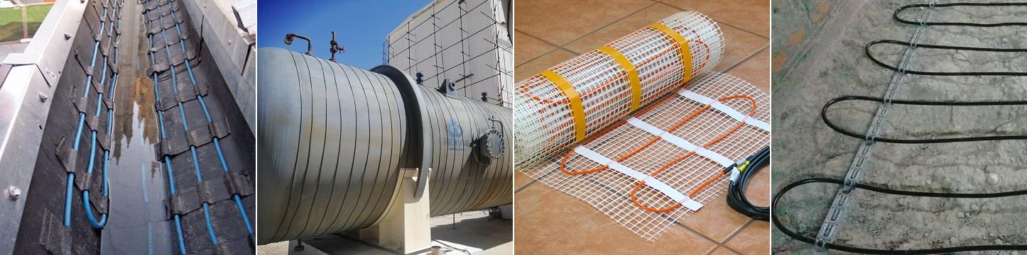 کابل حرارتی گرمایش از کف و کاب های حرارتی توان ثابت