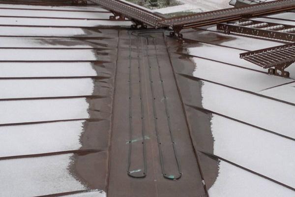 کابل هیت تریس توان ثابت - گرمایش از کف سقف سوله و بام