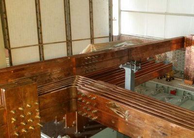باس بار مسی copper bus bar تولید داخل